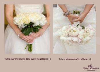 Chci svatební kytici bez svatebního příplatku