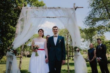 Alča a Roman  - svatba Boskovice