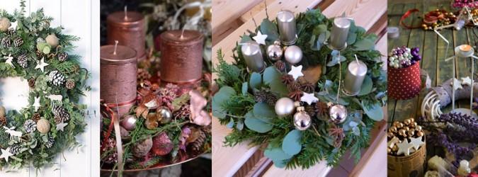 Vánoční dílna - adventní věnec