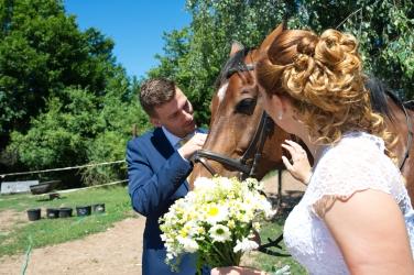 Iveta a Lukáš - kopretinová svatba