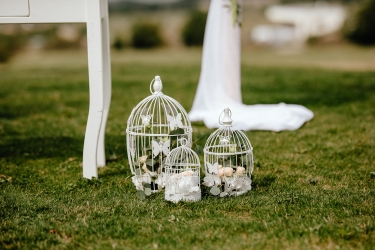 dekorace svatebního obřadu