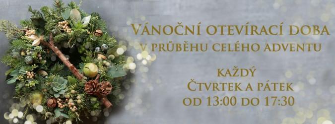 Vánoční otevírací doba v průběhu adventu