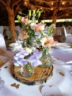 svatební dekorace květiny