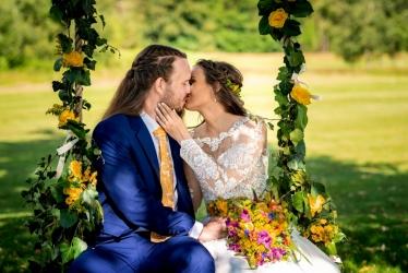svatba Marcinovi, golf resort kořenec